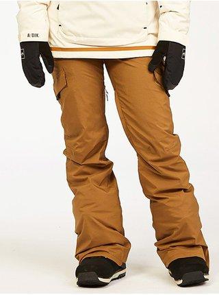 Billabong NELA ERMINE dámské zimní kalhoty - hnědá