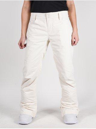 Billabong TERRY WHITE CAP dámské zimní kalhoty - bílá