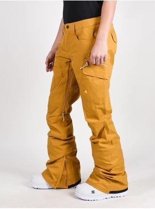 Burton GLORIA HARVEST GO dámské žluté snowboardové kalhoty