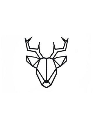 Dřevěná dekorace na zeď Deer Siluette BeWooden