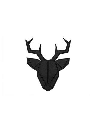 Dřevěná dekorace na zeď Deer Nox Polygon BeWooden
