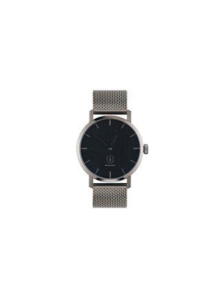Drevené hodinky kovovým s remienkom Titan Watch BeWooden