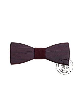Dřevěný motýlek Red Wine bow tie, pánský BeWooden