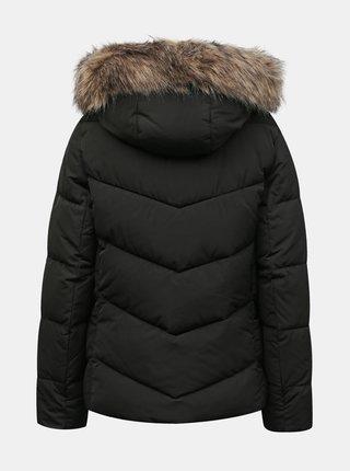 Černá zimní prošívaná bunda ONLY Roona