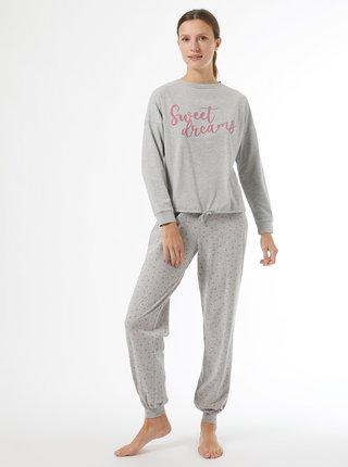 Šedé pyžamo Dorothy Perkins