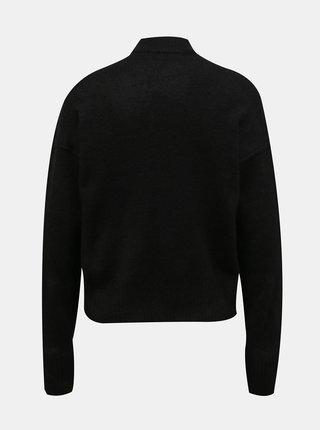 Černý svetr se stojáčkem VERO MODA