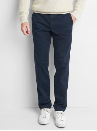 Modré pánske nohavice GAP