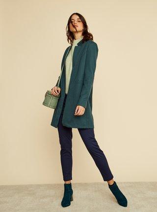 Tmavě modré dámské slim fit kalhoty ZOOT Baseline Anna