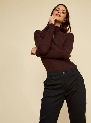 Čierne dámske chino nohavice ZOOT Baseline Heather