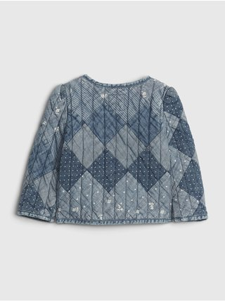 Modrý holčičí kabát GAP