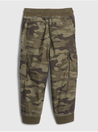 Zelené klučičí kalhoty GAP