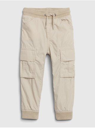 Béžové klučičí kalhoty GAP