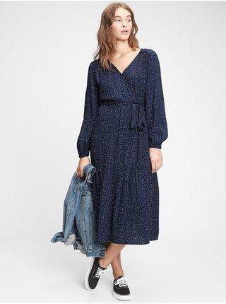 Modré dámské šaty GAP