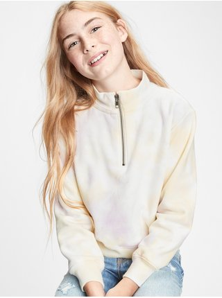 Žlutá holčičí mikina GAP