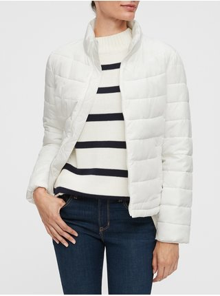 Bílá dámská bunda GAP