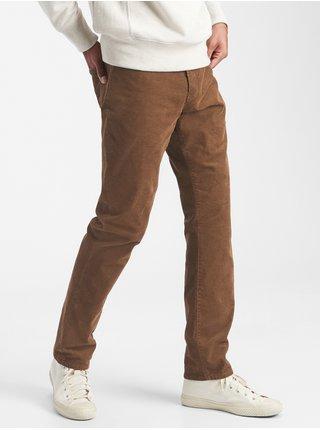 Hnědé pánské kalhoty GAP