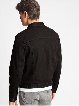 Černá pánská džínová bunda GAP