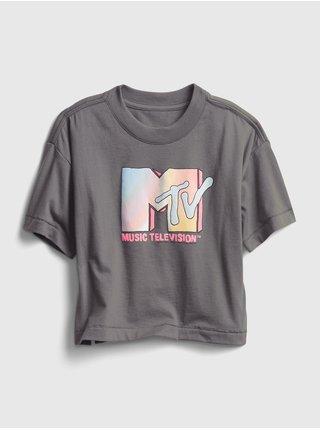 Šedé dámské tričko GAP