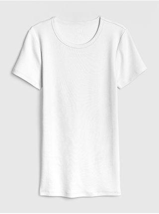 Biele dámske tričko GAP