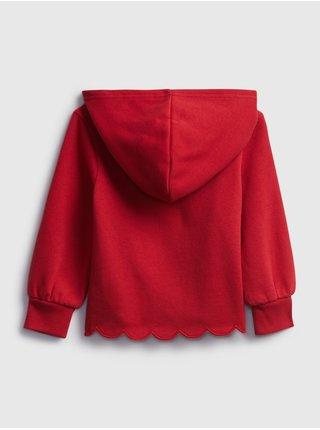Červená holčičí mikina GAP