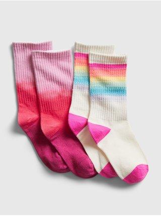 Farebné dievčenské ponožky GAP