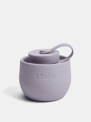 Světle fialová cestovní skládací láhev Stojo 590 ml