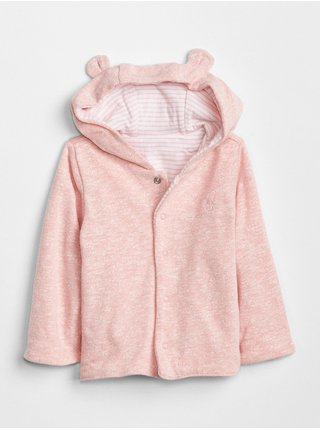 Ružová dievčenská mikina GAP