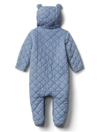 Modrá holčičí kombinéza GAP Bear