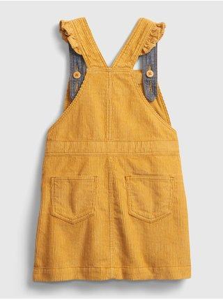 Žlté dievčenské šaty GAP
