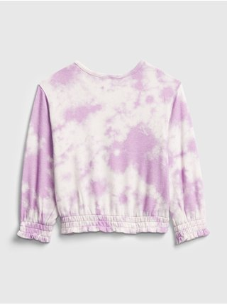 Fialové dievčenské tričko GAP