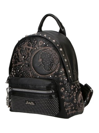 Anekke černý batoh Universe Spirti s kapsou