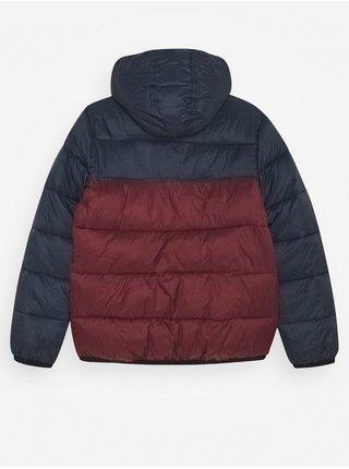 Element ALDER AVALANCHE VINTAGE RED zimní pánská bunda - modrá