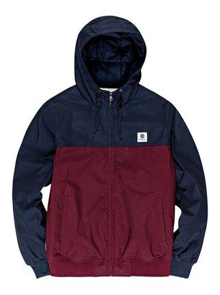 Element DULCEY TWO TONES VINTAGE RED pánská bunda - modrá