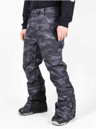Rip Curl FOCKER JET BLACK pánské zimní kalhoty - šedá