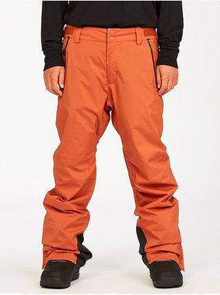 Billabong COMPASS AUBURN pánské zimní kalhoty - oranžová