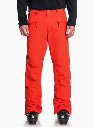 Quiksilver BOUNDRY POINCIANA pánské zimní kalhoty - oranžová