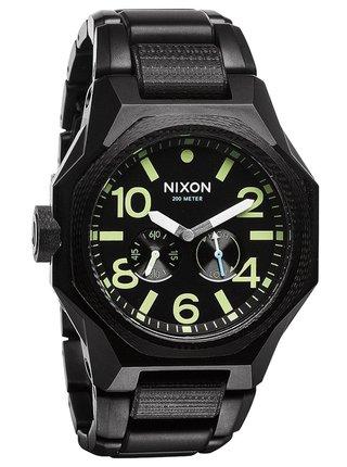 Nixon TANGENT MATTEBLACKSURPLUS analogové sportovní hodinky - černá