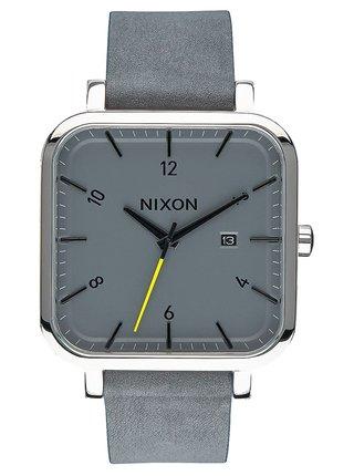 Nixon RAGNAR CHARCOAL analogové sportovní hodinky - šedá