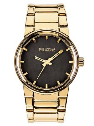 Nixon CANNON ALLGOLDBLACK analogové sportovní hodinky