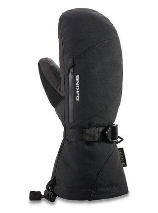 Dakine LEATHER SEQUOIA MITT black zimní palcové rukavice - černá