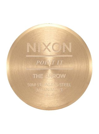Nixon ARROW ALLLIGHTGOLDTAUPE analogové sportovní hodinky