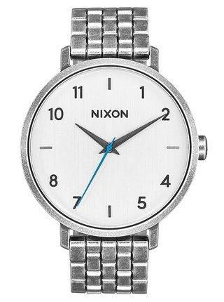 Nixon ARROW SILVERANTIQUE analogové sportovní hodinky