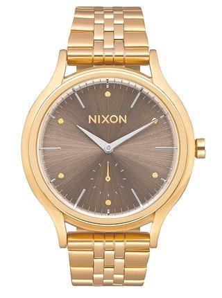 Nixon SALA ALLLIGHTGOLDTAUPE analogové sportovní hodinky
