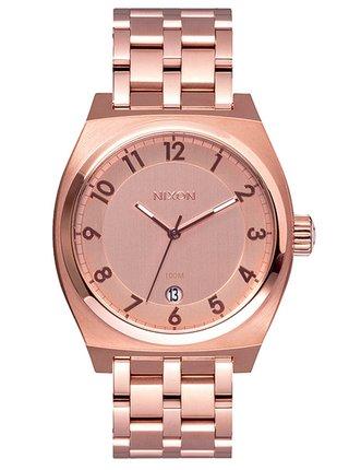 Nixon MONOPOLY ALLROSEGOLD analogové sportovní hodinky - růžová