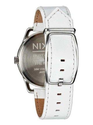 Nixon MELLOR SILVERWHITE analogové sportovní hodinky - bílá