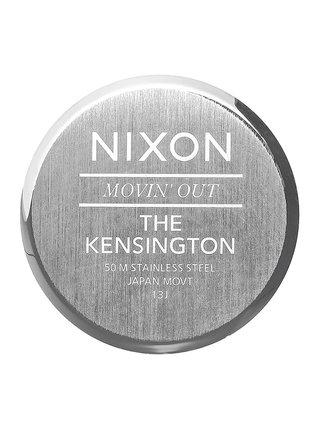 Nixon KENSINGTON SILVERGOLDWHITE analogové sportovní hodinky