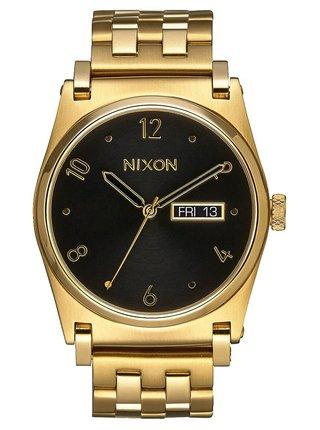 Nixon JANE ALLGOLDBLACK analogové sportovní hodinky - černá
