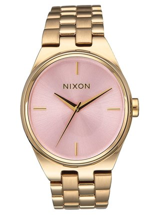 Nixon IDOL LIGHTGOLDPINK analogové sportovní hodinky
