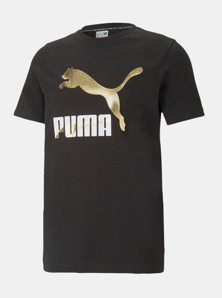 Černé pánské tričko s krátkým rukávem Puma Classics