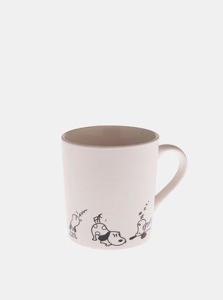 Bílý porcelánový hrnek Dakls 280 ml